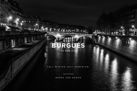 BURGUÉS Fall Winter 17 Campaign